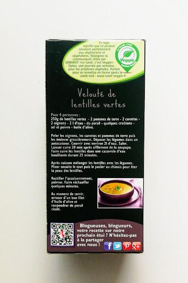 groene linzen uit Berry 500gr Sabarot
