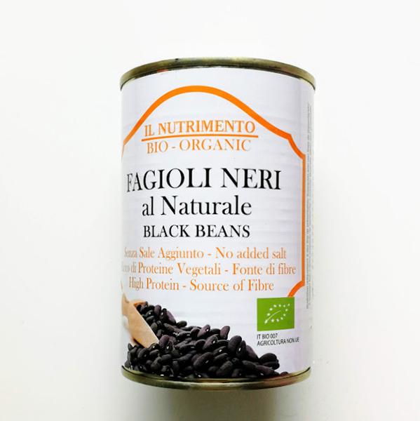 zwarte bonen Il Nutrimento zoutarm