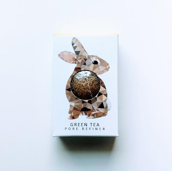 woodland rabbit konjac spons vegan gezichtsverzorging