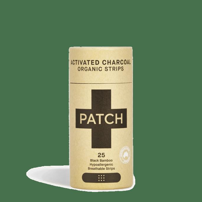 pleister PATCH Activated Charcoal - pleister zero waste actieve kool
