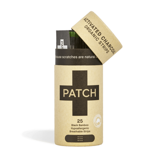 Nutricare PATCH Activated Charcoal - pleister zero waste actieve kool