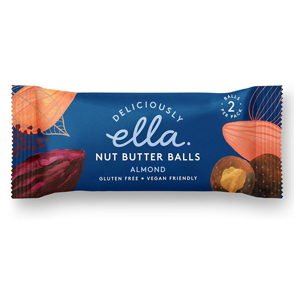 nut butter balls almond Deliciously Ella