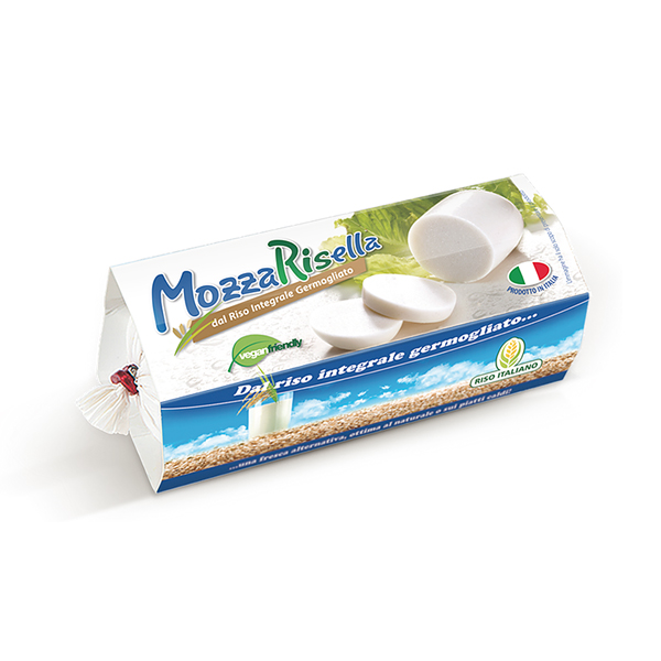mozzarisella vegan alternatief voor mozzarella
