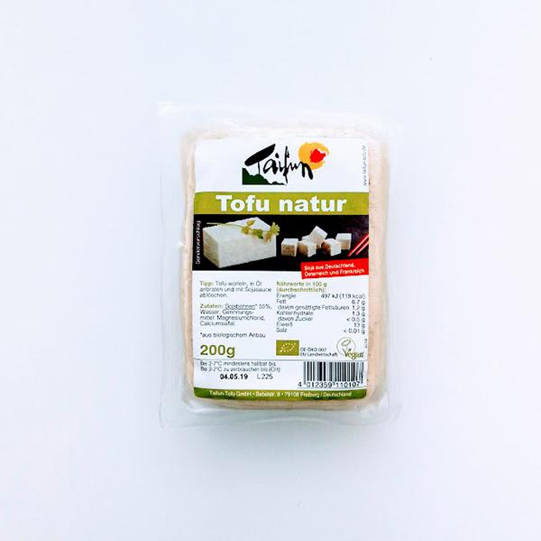 tofu taifun, natuur tofu 200gr