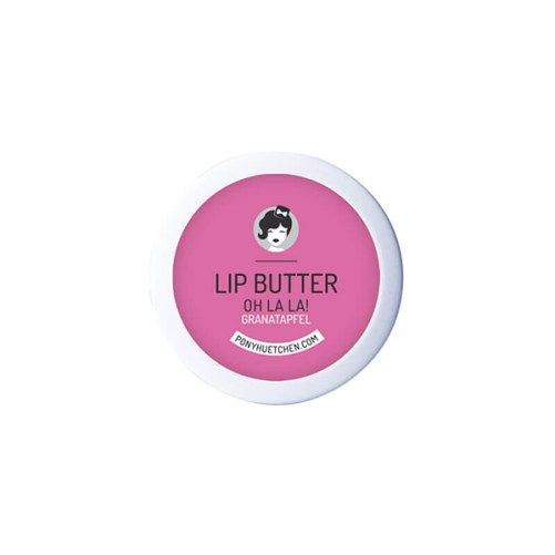 lip butter oh la la van PonyHütchen vegan lippenbalsem