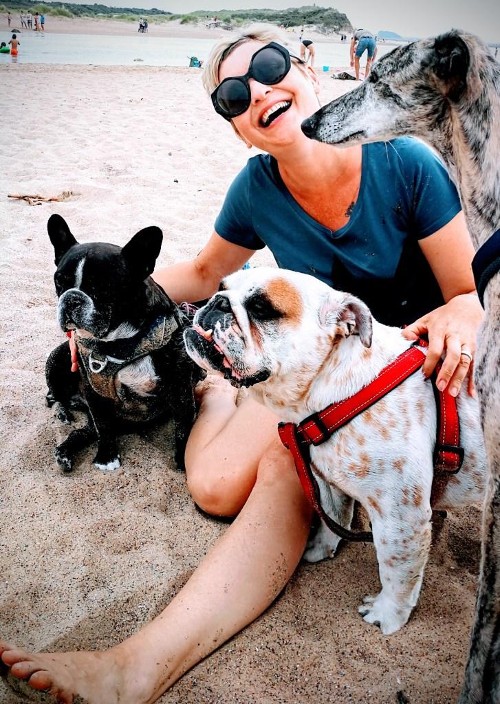 kamperen met 3 honden