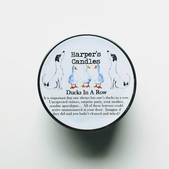 Ducks in a Row vegan geurkaars Harper's Candles