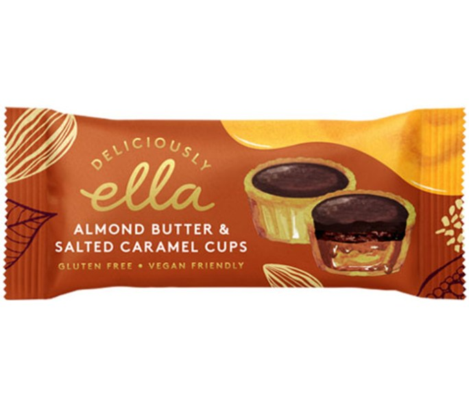 deliciously ella caramel cups almond & salted caramel cups vegan