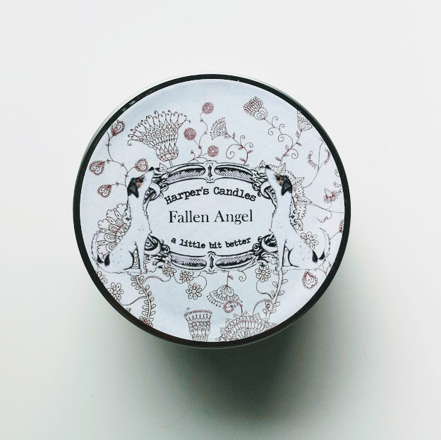 Fallen Angel Harper's Candles