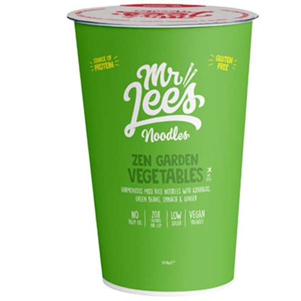 Zen Garden vegetables vegan Mr lees noodles
