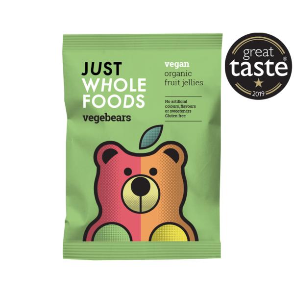 JustWholefoods Vegebears Sweet vegan snoepjes glutenvrij