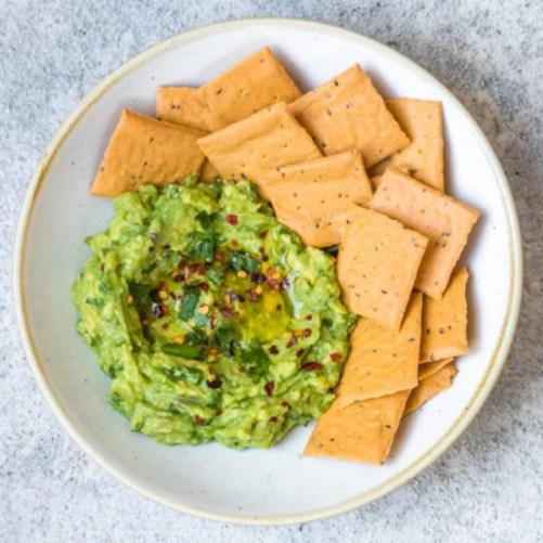 deliciously Ella Chickpea Crackers vegan