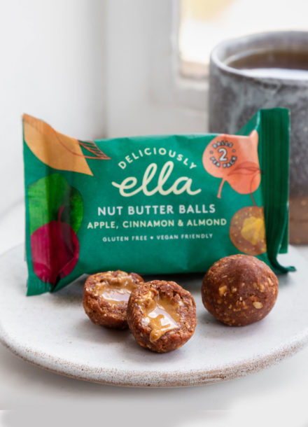 Deliciously Ella Apple Cinnamon Nut Butter Balls 36gr