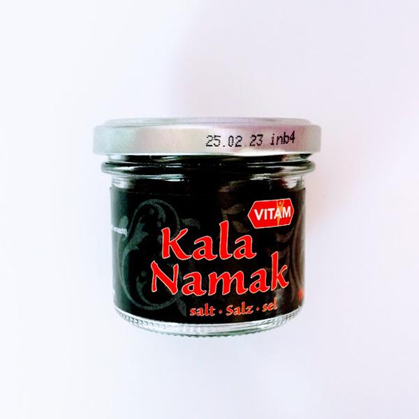 vitam kala namak zwart zout vegan 100gr