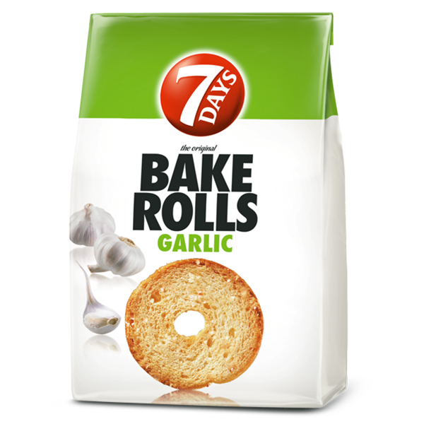 7days bake rolls garlic vegan toastjes