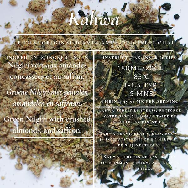 Madn77 Ami's Kashmiri Kawha Green Tea
