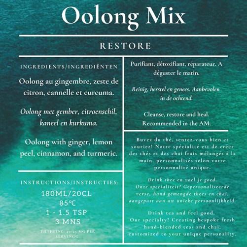 Madn77 Oolong Tea Mix Restore