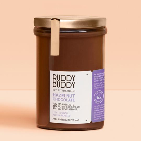 buddy buddy hazelnootchocopasta