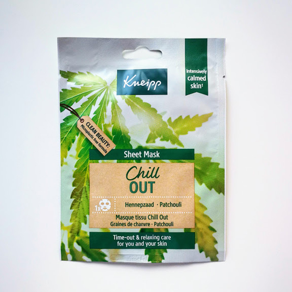 Kneipp Sheet Mask Chill Out vegan sheet masker