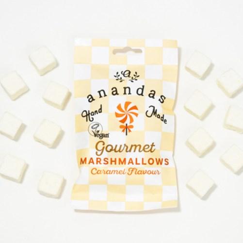 Ananda Foods Caramel Marshmallows 45gr vegan