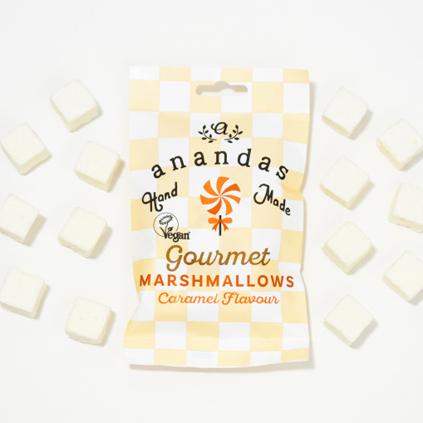 Ananda Foods Caramel Marshmallows 45gr vegan