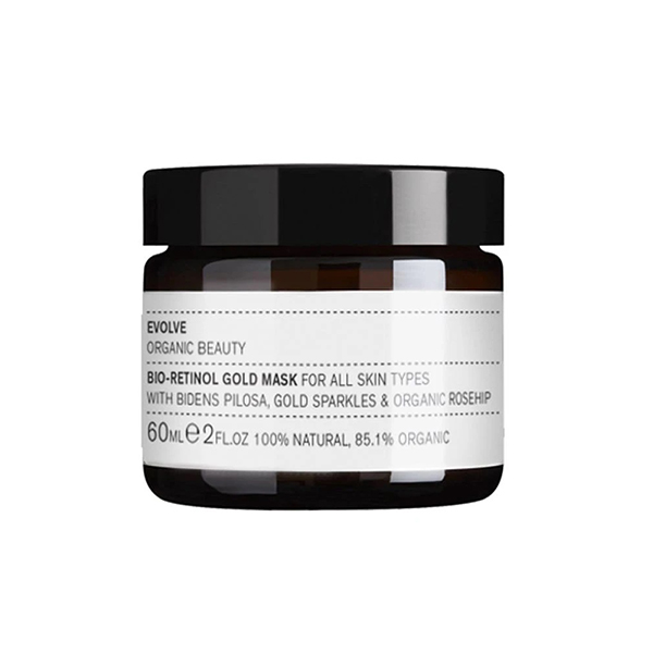 Bio retinol Gold Mask Evolve Beauty vegan