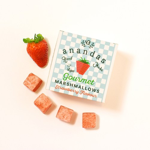 ananda foods strawberry marshmallows vegan