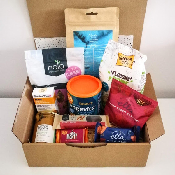 vegan gift box healthy