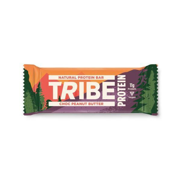 Tribe Choc peanut Butter Protein Bar vegan 50gr