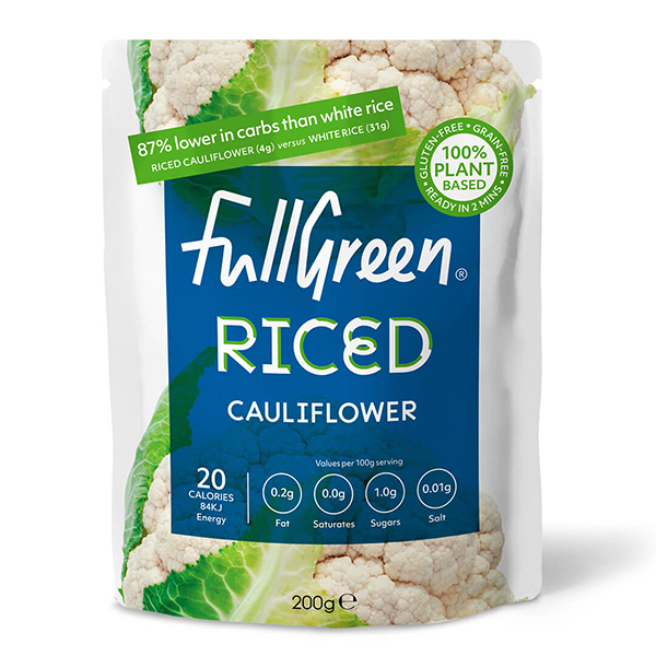 fullgreen riced cauliflower vegan 200gr