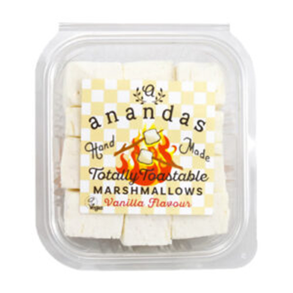 totally toastable marshmallows vanilla vegan 135gr