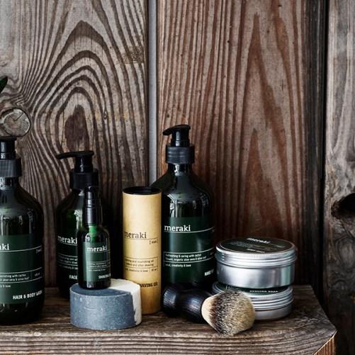 meraki body soap men scrub voor de man vegan