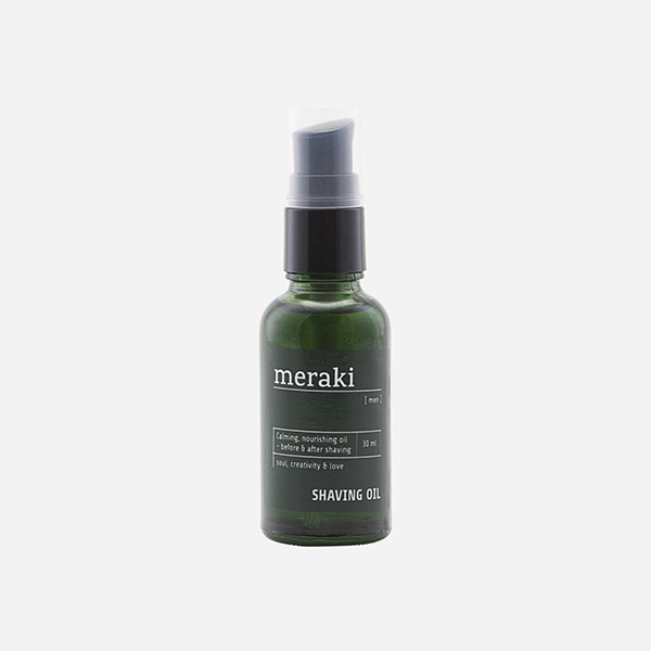 meraki shaving oil men vegan scheerolie