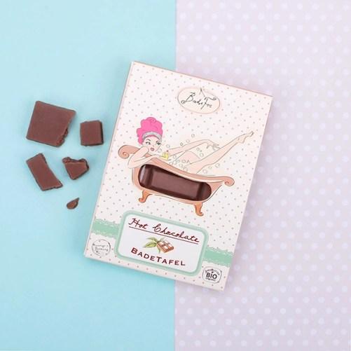 bade fee bad chocolade hot chocolate vegan bad additief 80gr