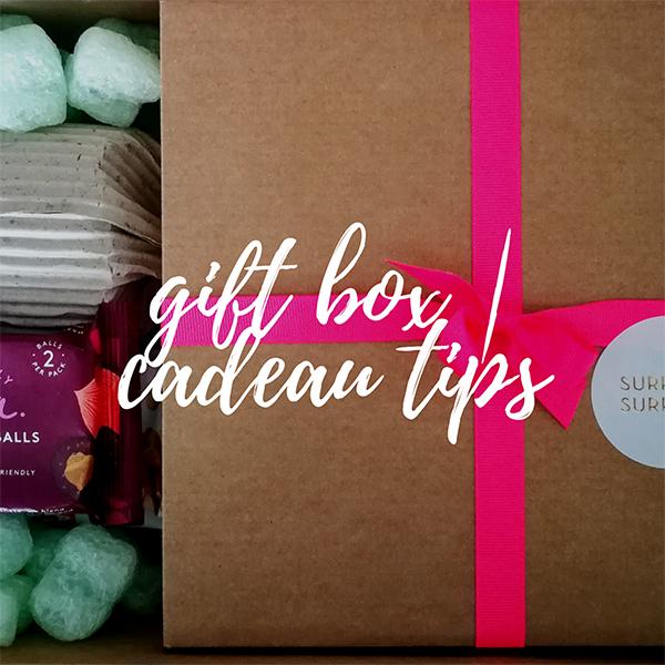 gift box | cadeau tips