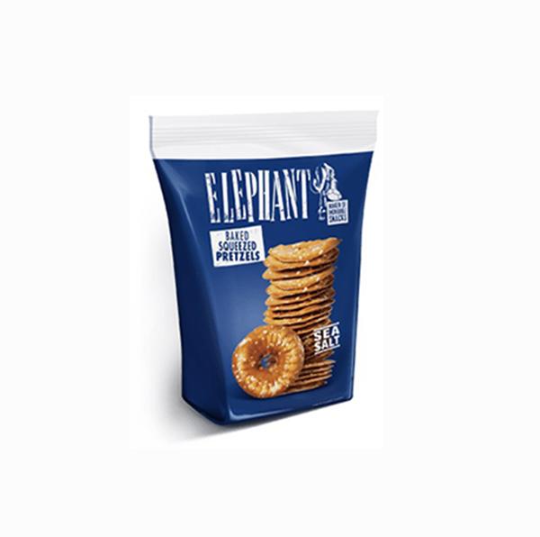 elephant baked squeezed pretzels vegan pretzels zeezout 80gr