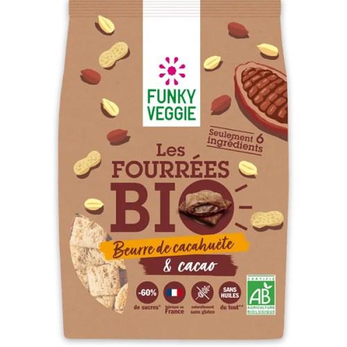 Funky Veggie Les Fourrées Bio vegan ontbijtgranen 250gr