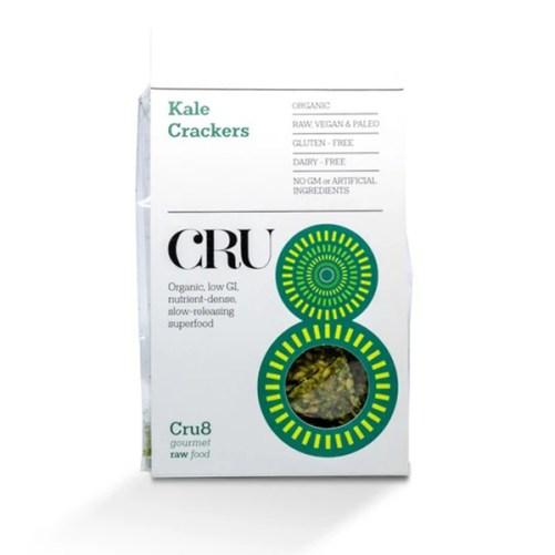 vegan boerenkool crackers vegan keto glutenvrij CRU8 raw food