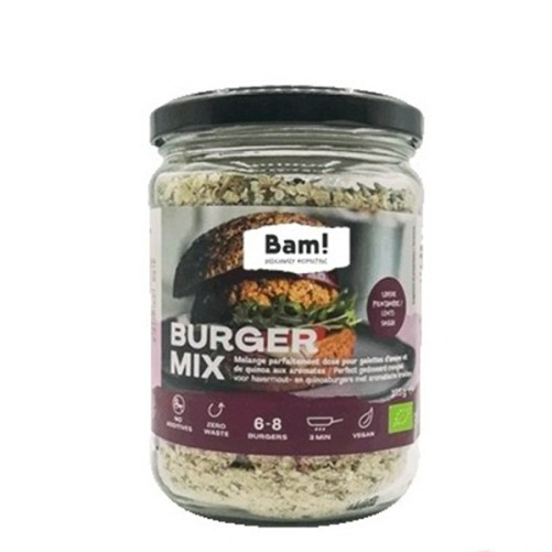 bam burger mix lentesmaak vegan
