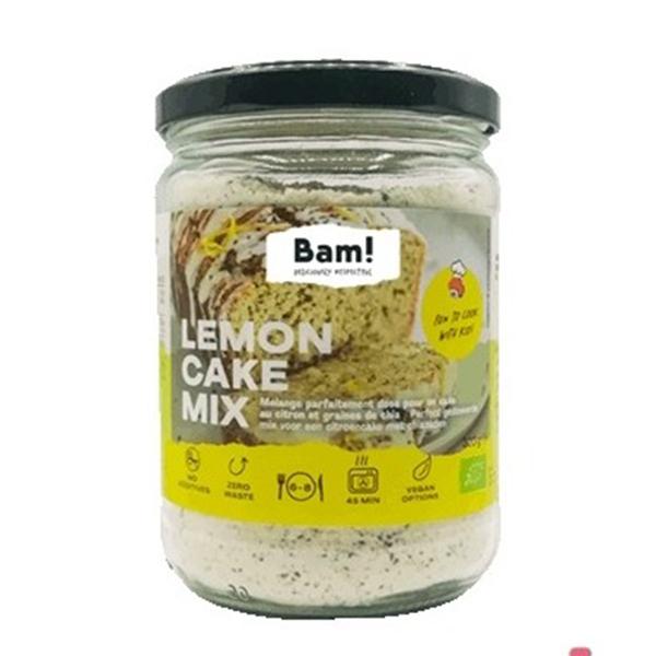 bam lemon cake mix vegan bakmix