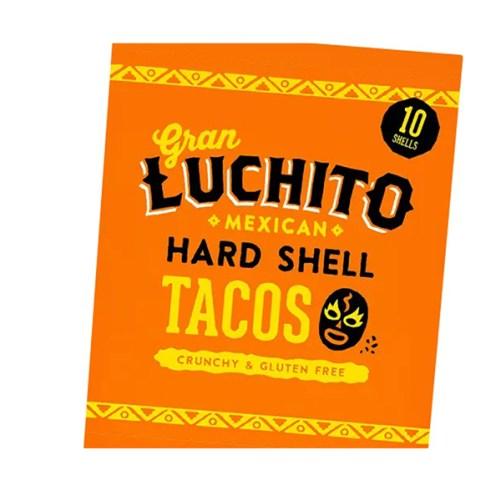gran luchito hard shell tacos vegan en glutenvrij