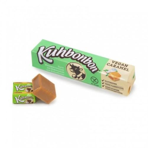 kuhbonbon vegan caramel 72gr lactosevrij, glutenvrij sojavrij