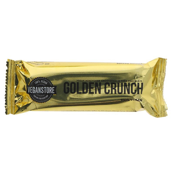 veganstore golden crunch bar vegan honeycomb