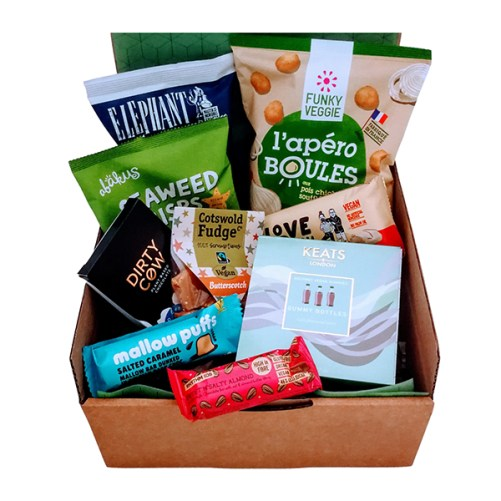 vegan gift box attak vegan cadeau box