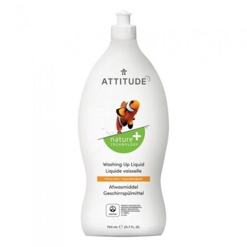 attitude washing up liquid citrus zest eco afwasmiddel 700ml