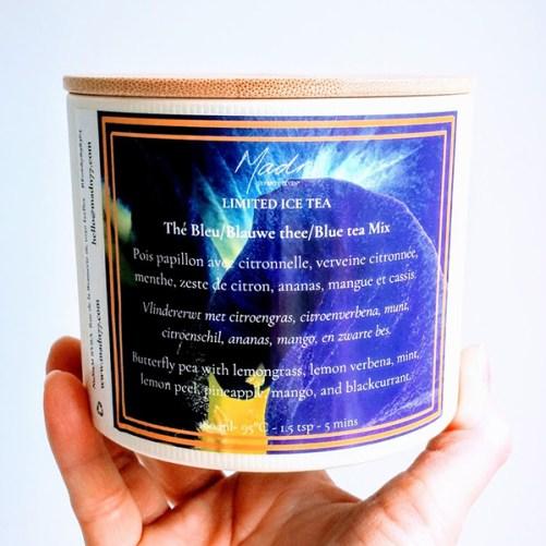 madn77 blauwe thee limited ice tea edition