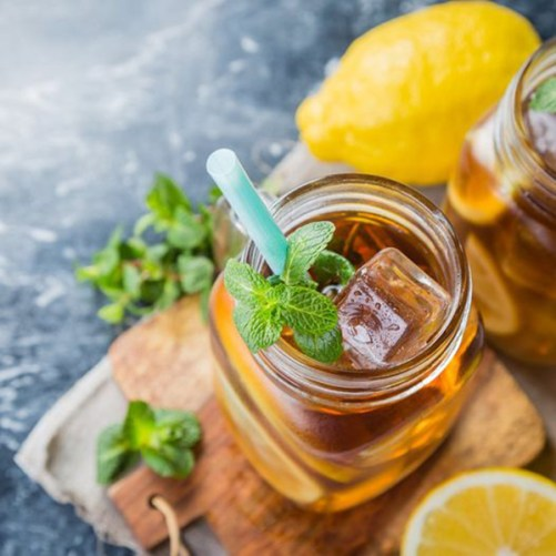 madn77 ice tea groene thee 75gr met lepel