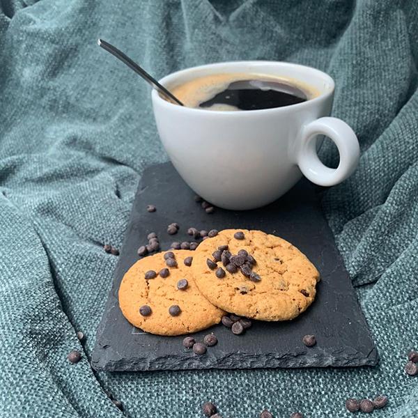 naduah chocolade chip cookies vegan koekjes lactosevrij