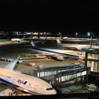 【Photo】夏の夜の羽田空港国際線旅客ターミナル! 【 #羽田空港 #夜の空港 #空港  】