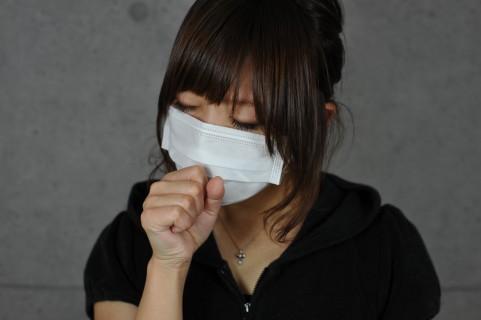インフルエンザにかかった人
